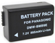 Panasonic DMW-BMB9, DMW-BMB9E, DMW-BMB9GK Digital Camera Battery