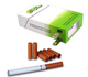 Electronic Cigarette with 6 x Atomized Liquid Cartridges