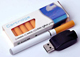 Quit Smoking USB Rechargeable Electronic Refill Cigarette With 10 Piece