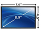 8.9-inch Glossy LED Sony Laptop Screen