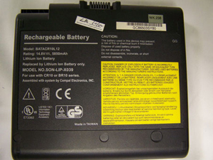 Compal BBR10 Laptop Battery