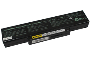 Clevo SQU-601, M660NBAT-6, M660BAT-6 Laptop Battery